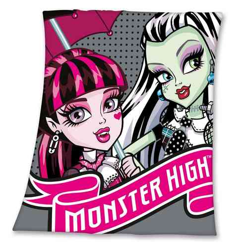 Monster High Fleece Decke