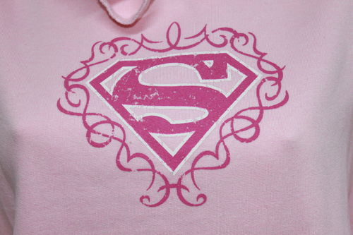 Superman - Girl - Vintage Kapuzensweater