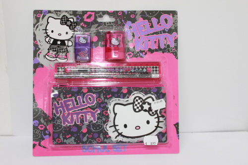 Hello Kitty - Schreibset