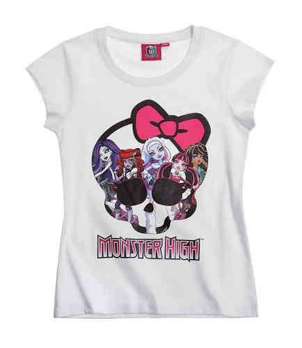 Monster High - T-Shirt weiß