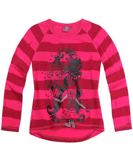 Monster High - Langarmshirt pink