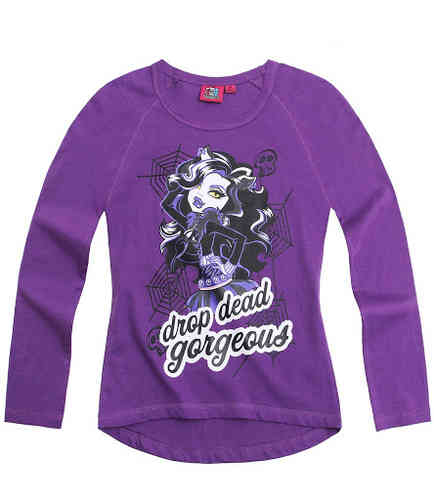 Monster High - Langarmshirt lila