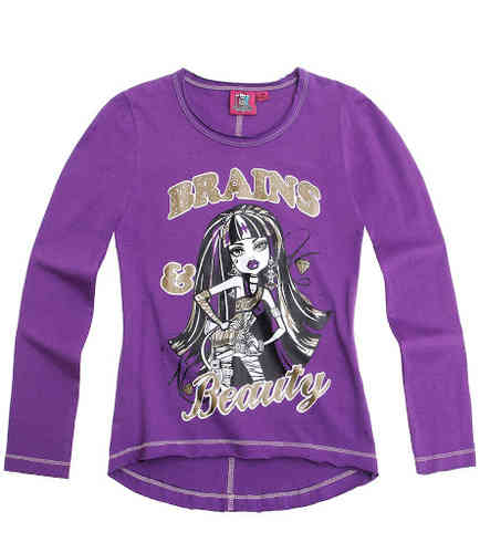 Langarmshirt - Monster High - Brains