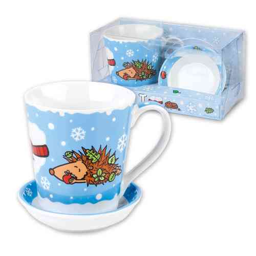 "Sheepworld Tasse im Set ""I Love Winter"""