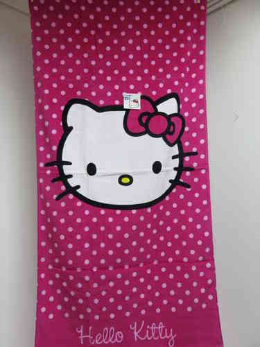 Hello Kitty - Badetuch / Strandtuch