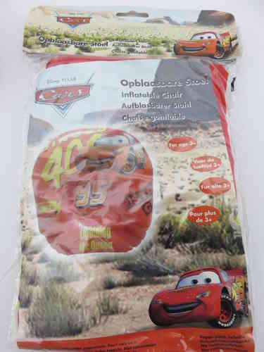 Aufblasbarer Sessel - Disney * Cars 2