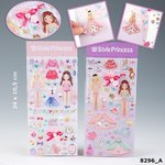 My Style Princess - 3 D Sticker * 2 Stck. Packg.