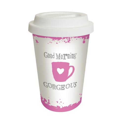 Coffee to go * Reisebecher - Good morning Georgeous * 602551