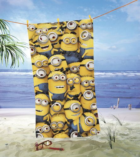 Strandtuch - Minions Crowd * Global Labels
