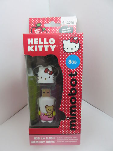 Hello Kitty * 8 GB USB 2.0 Flash * USB-Stick * mimobot