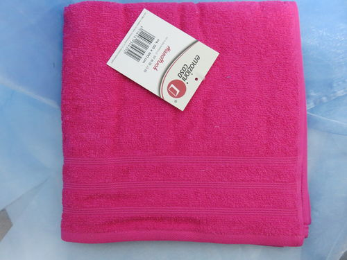 Handtuch * Uni * Farbe: pink