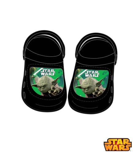 Star Wars - The Clone Wars Sandalen schwarz