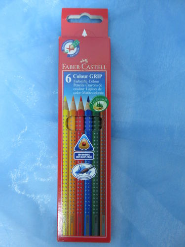 Faber Castell * 6 Colour Grip Farbstifte