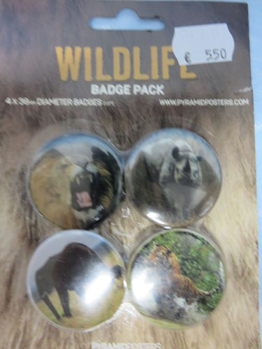 Badge Pack / Buttons * Wildlife