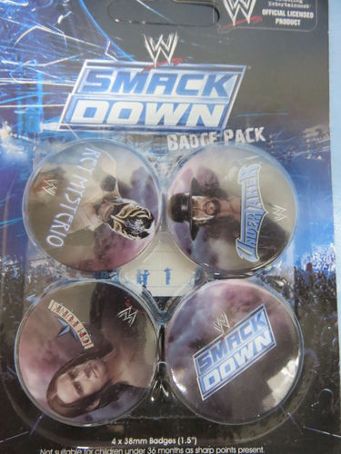 Badge Pack / Buttons * Smack Down