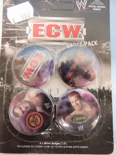 Badge Pack / Buttons * ECW