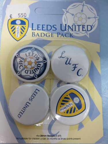 Badge Pack / Buttons * Leed United
