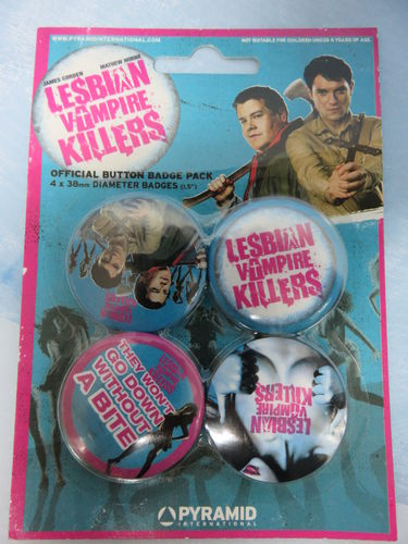 Badge Pack / Buttons * Lesbian Vampire Killers