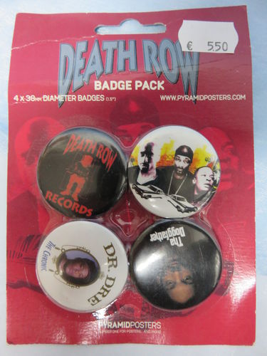 Badge Pack / Buttons * Death Row