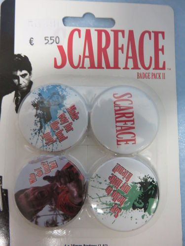 Badge Pack / Buttons * Scarface