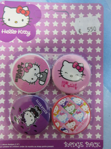 Badge Pack / Buttons * Hello Kitty