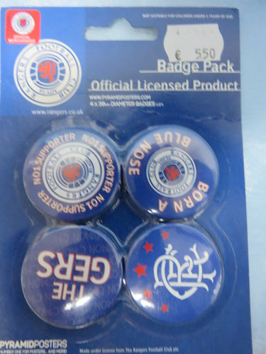 Badge Pack / Buttons * Rangers Football Club