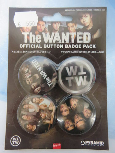 Badge Pack / Buttons * The Wanted
