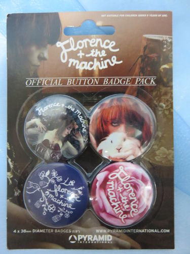 Badge Pack / Buttons * Florence + the machine
