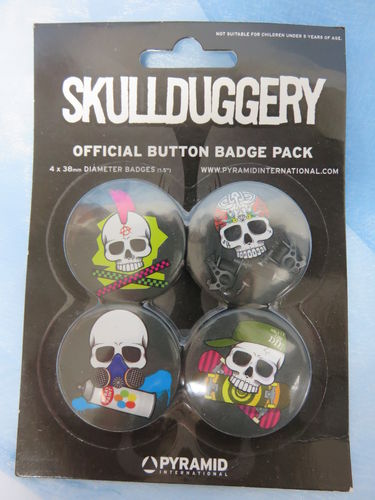 Badge Pack / Buttons * Skullduggery