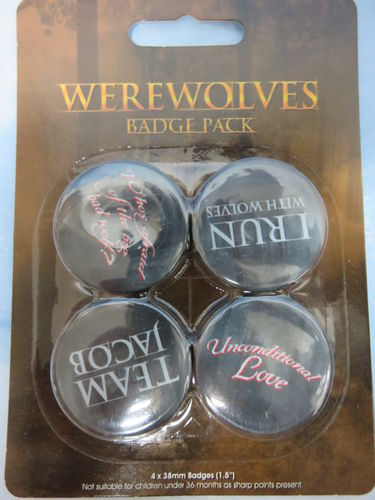 Badge Pack / Buttons * Werewolves