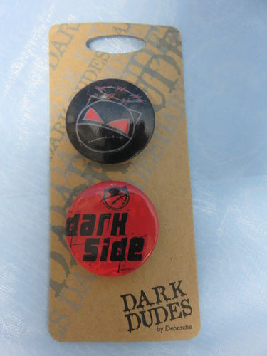 Badge Pack / Buttons * Dark Dudes