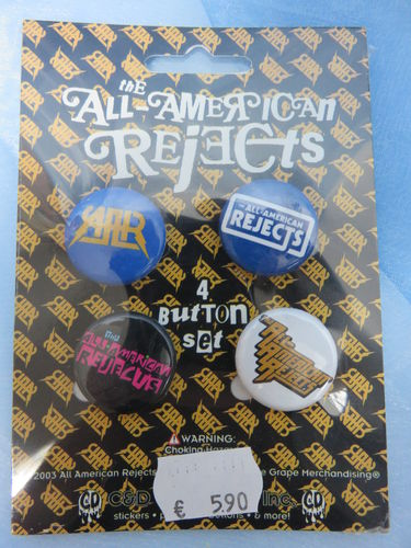 Badge Pack / Buttons * All American Rejects