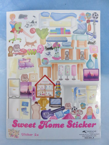 Sweet Home Sticker