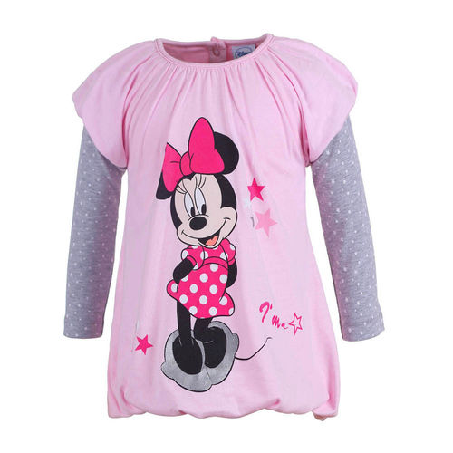 Disney´s Minnie Mouse - Mädchen Kleid in Farbe Rosa