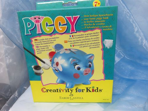 Faber - Creativity for Kids * Piggy * 180743 * Sparschwein