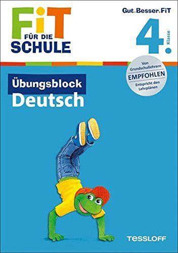 Übungsblock Deutsch. 4. Klasse