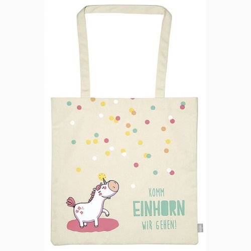 Shopper - Einhorn - Happy me *