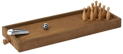 moses. * Wooden Game Desktop Bowling