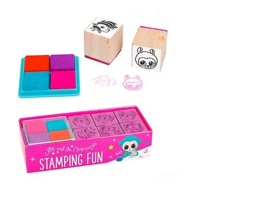 Ylvi & the Minimoomis Stamping Fun