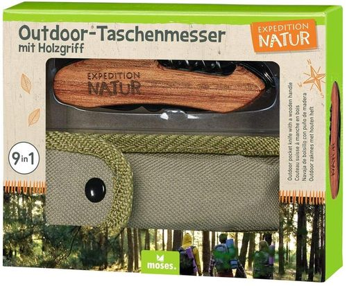 Expedition Natur Outdoor-Taschenmesser