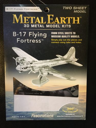 Metal Earth - B-17 Flying Fortress Metallbauset